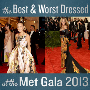 The Best & Worst Dressed at the Met Gala 2013