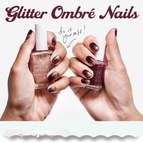DIY: Glitter Ombre Nails