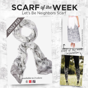 Scarf of the Week: Let's Be Neighbors Scarf