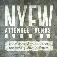 NYFW Attendee Trends
