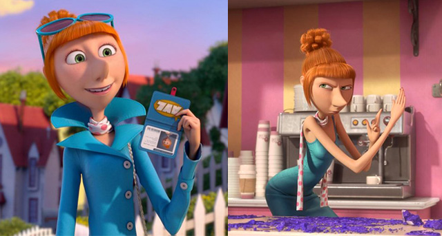 Agent Lucy Wilde Despicable-Me