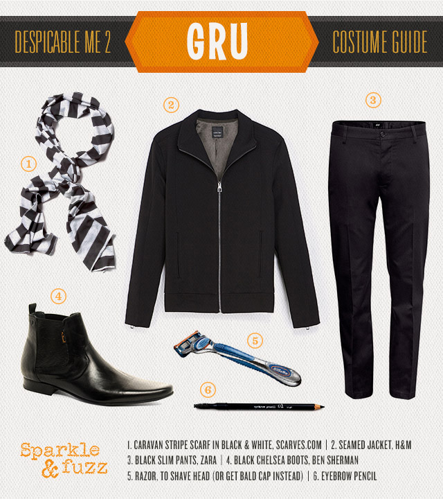 Gru Despicable Me Halloween Costume DIY