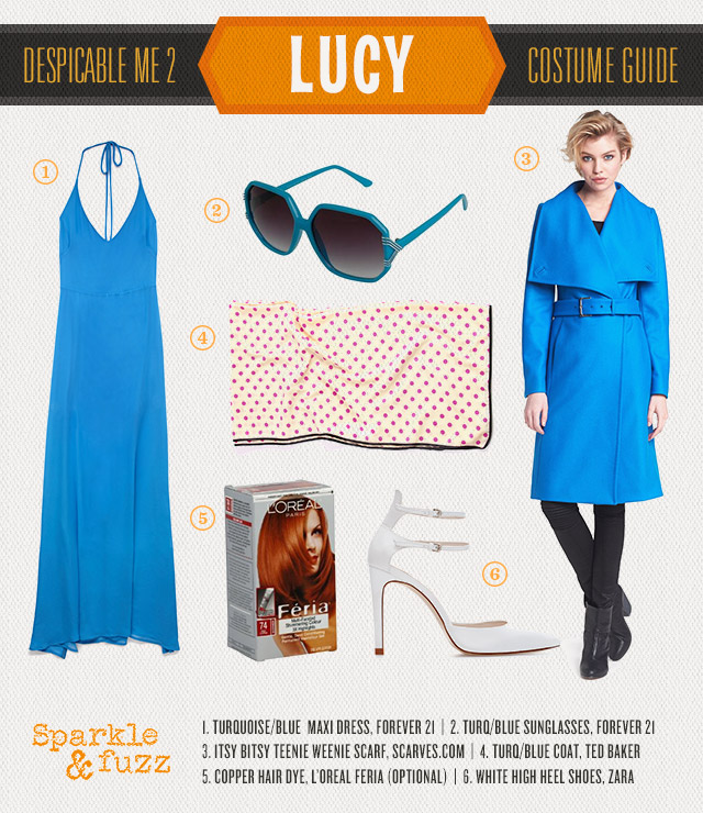 Lucy Despicable Me 2 Halloween Costume DIY