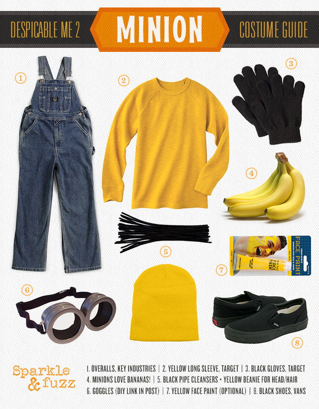Minion Despicable Me Halloween Costume DIY