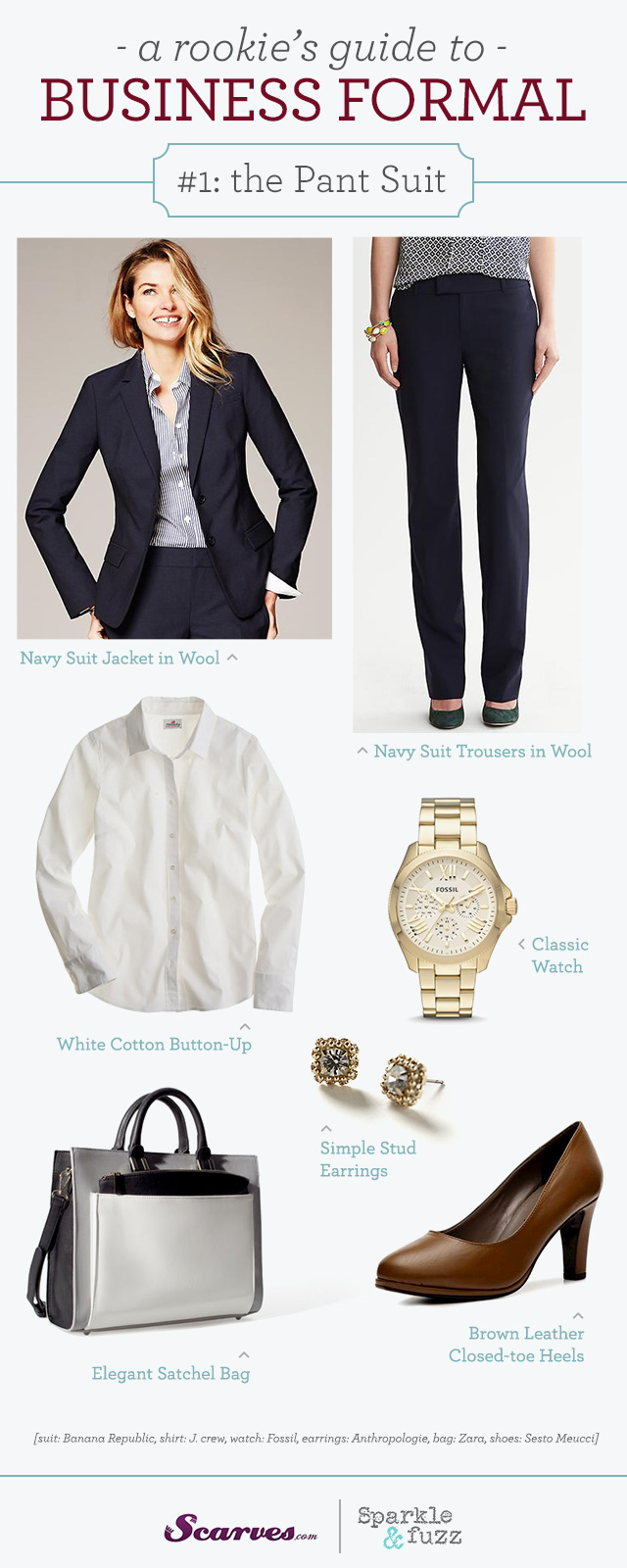 Business Formal: the Pant Suit