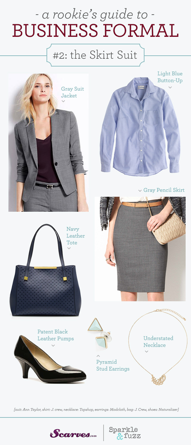Business Formal The Skirt Suit