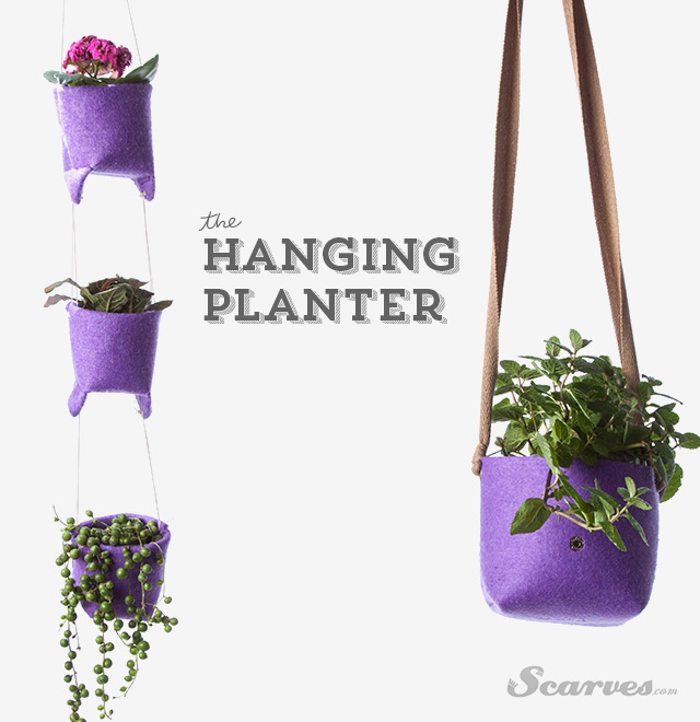 Upcycle DIY: Hanging Planter