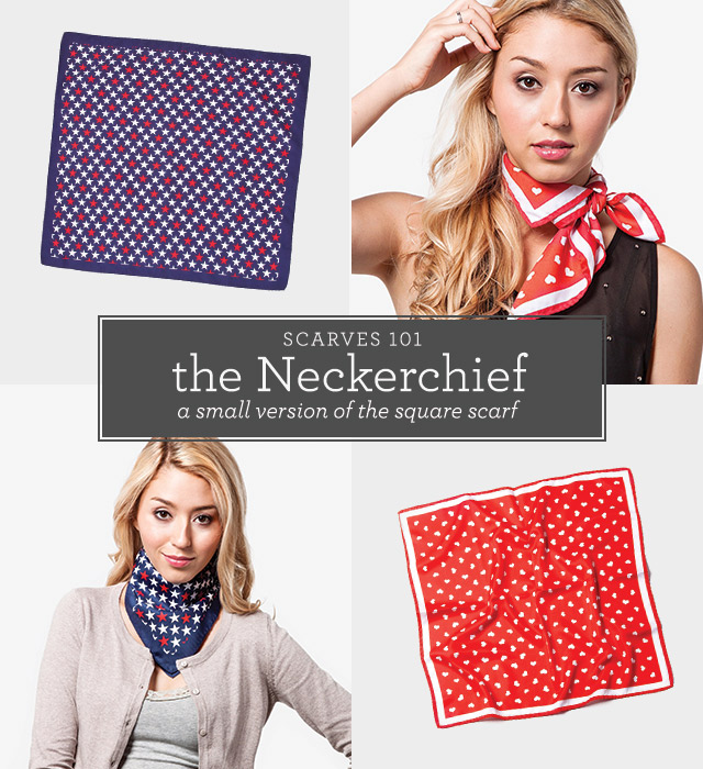 Scarves 101: Neckerchief