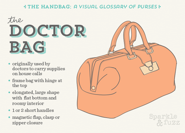 The Handbag- A Visual Glossary of Purses- The Doctor Bag