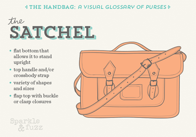 The Handbag A Visual Glossary Of Purses Satchel