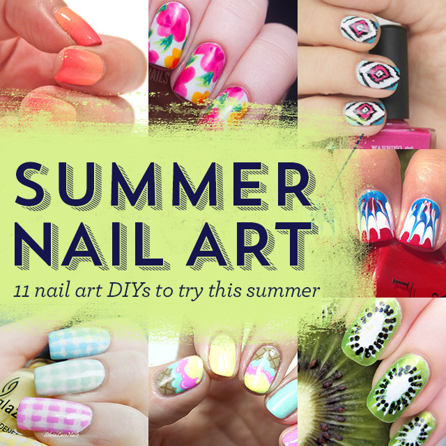 Diy Nail Art Ideas For Summer The Style Canvas Scarvess