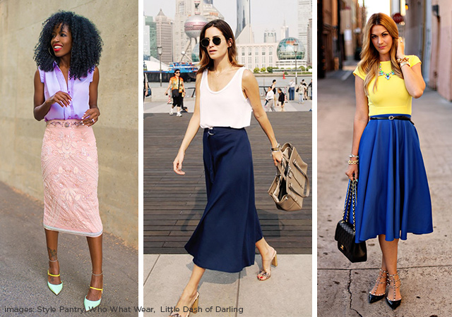 What is a Midi Skirt? | The Style Canvas | Scarves.com's Fashion ...
