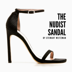 The Nudist Sandal by Stewart Weitzman