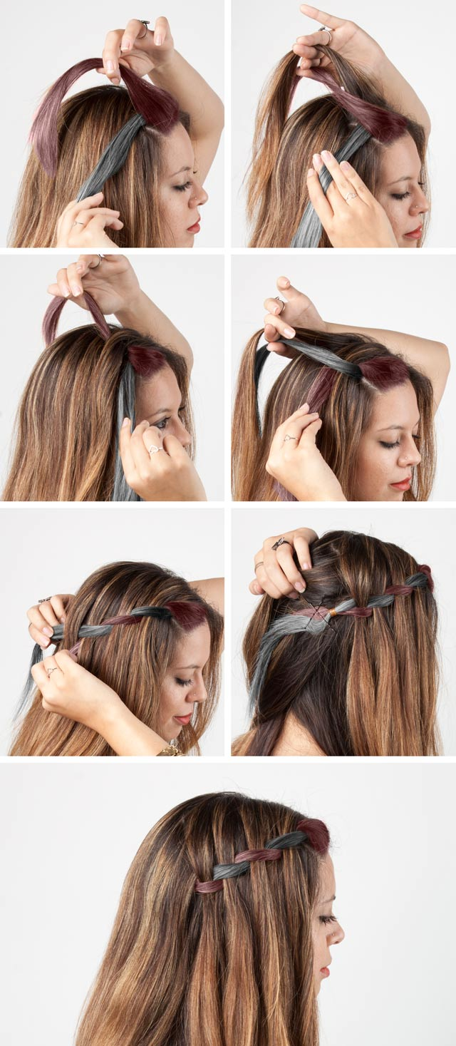 6 easy diy braids | the style canvas | scarves's fashion, style