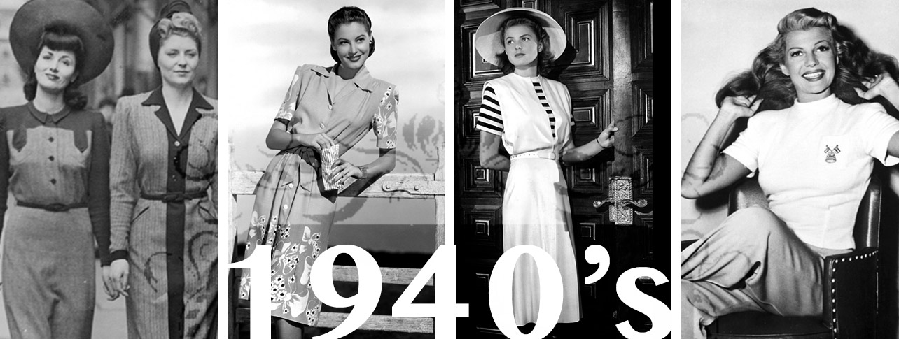 How to Dress from Every Decade: 1940's