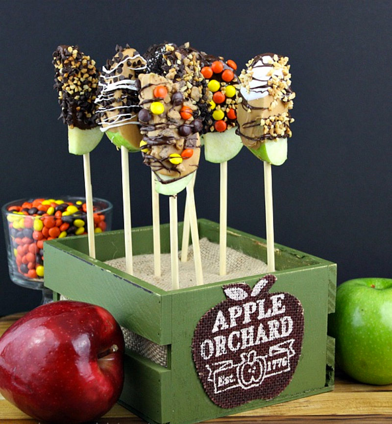 11 homemade halloween treats without the tricks - Apple Halloween Costumes
