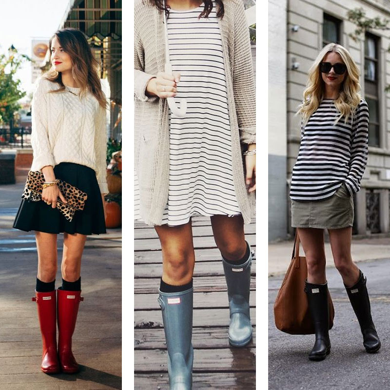 5 Ways to Style Your Rain Boots
