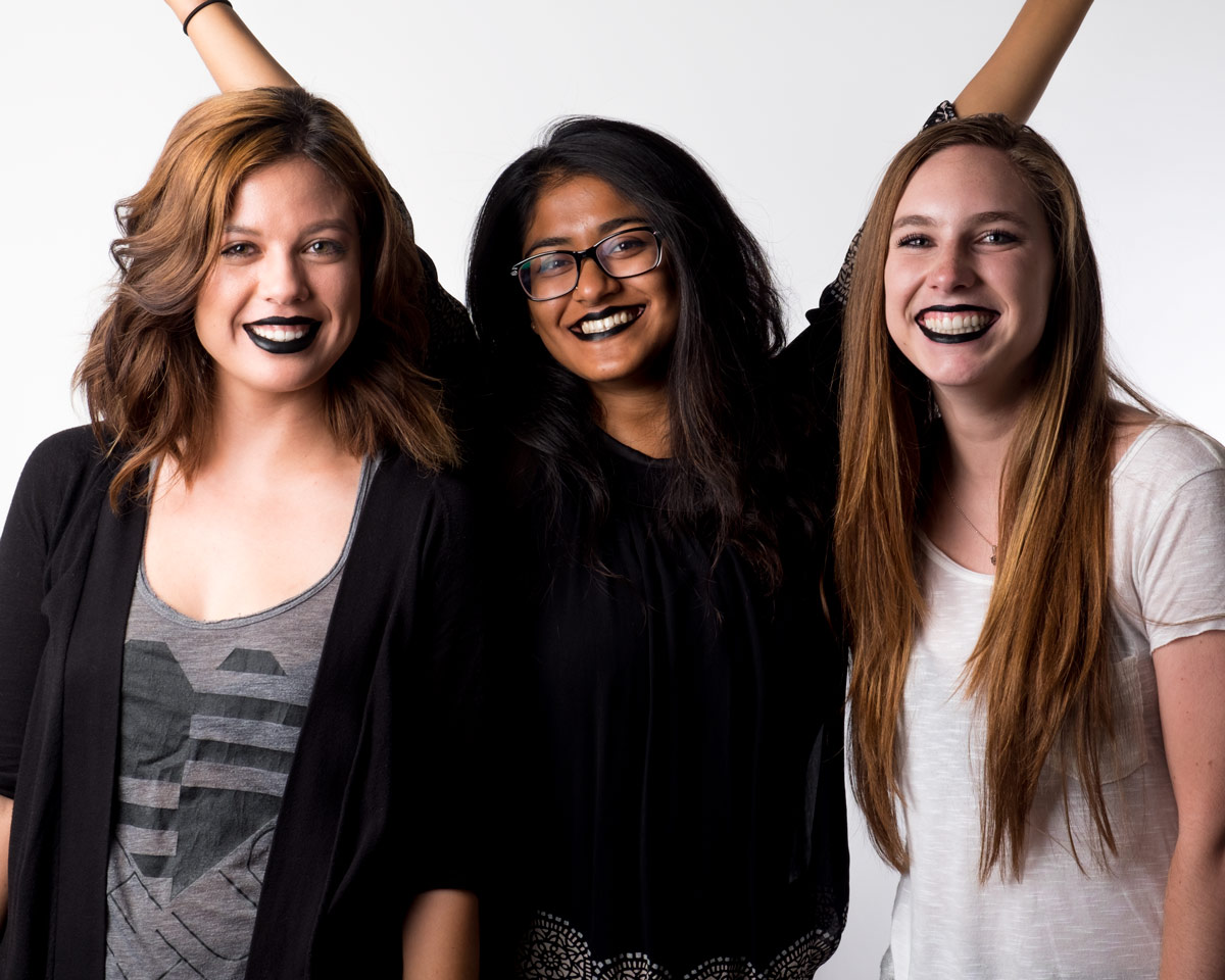 The Style Canvas Team Tries Unconventional Lipstick Colors