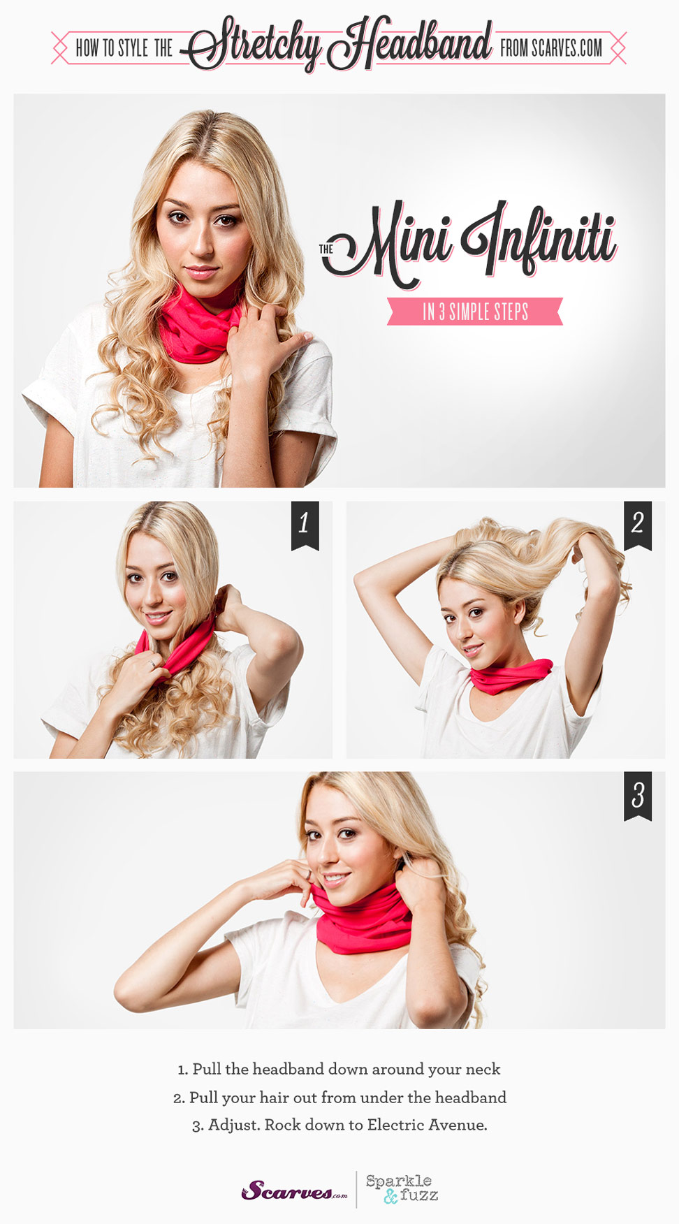 The Mini Infinity - How to Style a Stretchy Headband