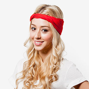 The Faux Turban - How to Style a Stretchy Headband